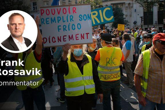 Frankrikes mystiske opprør viser vei mot undergangen