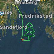 Fløy julen inn over Ytre Oslofjord