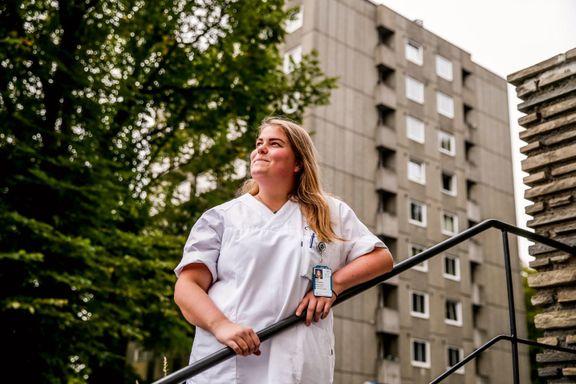 Disse boligene har en sykepleier råd til nå. Hun har ingen mulighet til å kjøpe i Oslo.