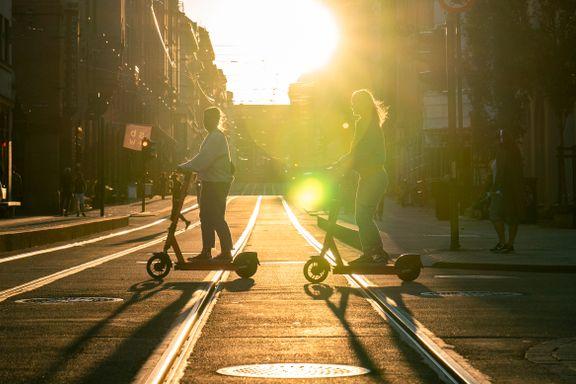 Nye tall: Her er de vanligste årsakene til ulykker med elsparkesykkel