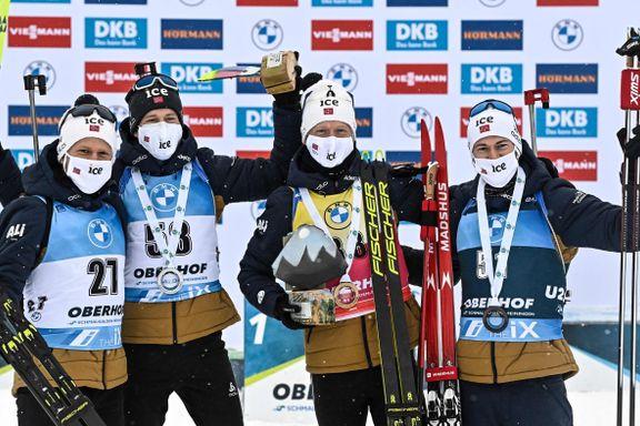 Den norske skiskytter-dominansen: – Helt spinnvilt