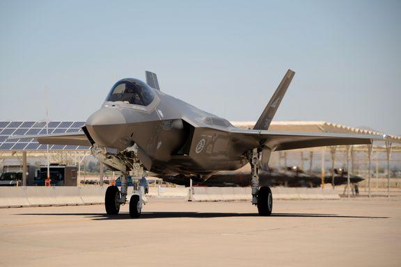 USA vurderer å selge F-35-jagerfly til De forente arabiske emirater