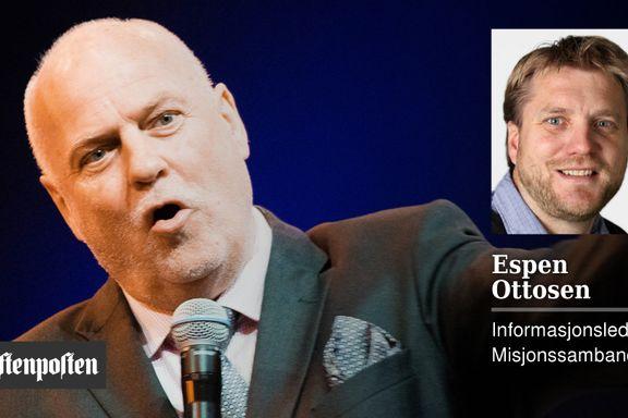 Å gi penger til Visjon Norge gir ikke Guds velsignelse. Jan Hanvold fremstår grisk og dypt uetisk | Espen Ottosen