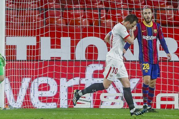 Rakitic senket gamleklubben og Messi