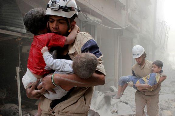 Åtte «hvite hjelmer» drept i Syria