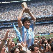 Hyller Maradona: - En ener i sin tid