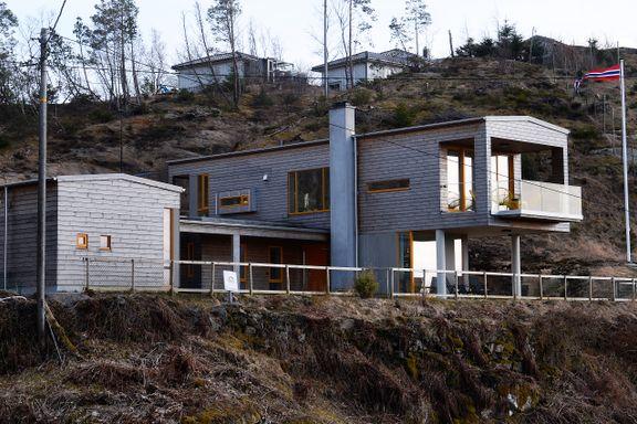 Arkitekttegnet hytte: Det eneste kravet de hadde, var nok  sengeplasser til venner og familie
