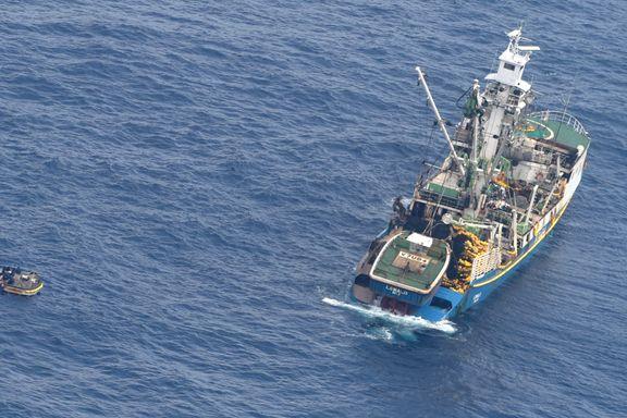 Kiribati innstiller søket etter passasjerbåt