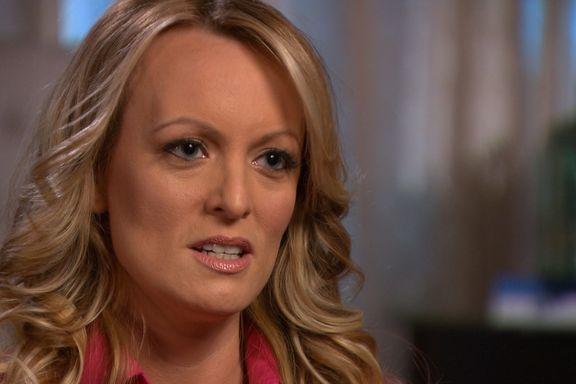 Pornostjerne sier hun skrev under avtale for å beskytte familien