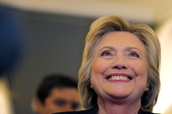 Derfor har Clinton fortsatt grunn til å glise