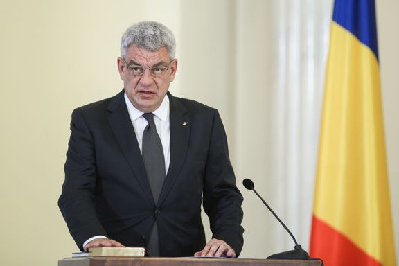 Romanias statsminister går av