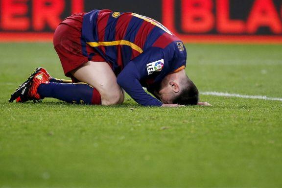 Barcelona kastet bort seieren på hjemmebane