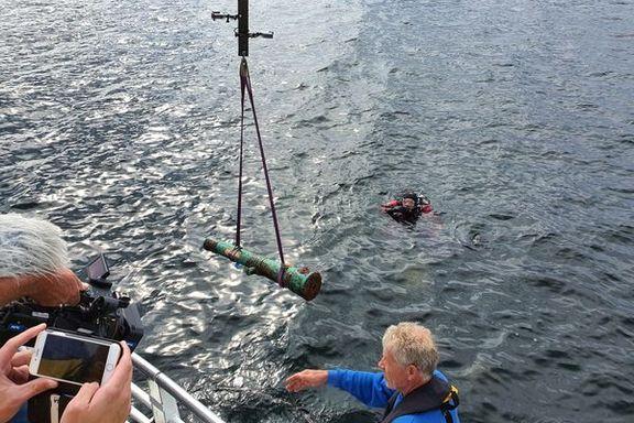 Fant «skatt» på havbunnen: - Arkeologene er fyr og flamme