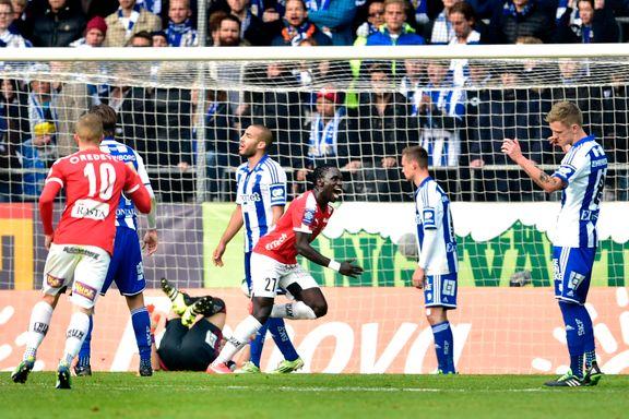 Gulldrømmen brutalt knust for Aleesami og IFK Göteborg