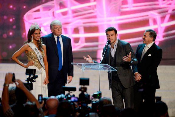 Her er oligarken og hans popstjerne-sønn som ga Trump en svært dårlig uke