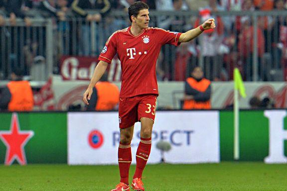 Mario Gomez forlater Bayern