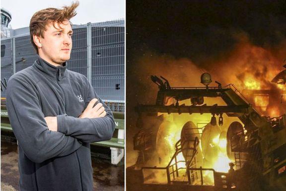 Så livsverket smelte i flammene: - Det er veldig skremmende å tenke på