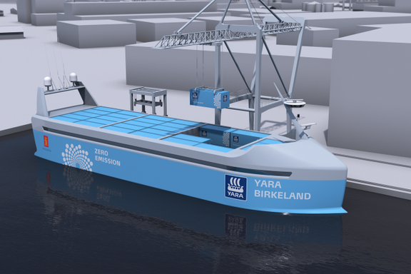 «Havets Tesla» kan bli verdens første selvkjørende skip. Og det er nordmenn som står bak.
