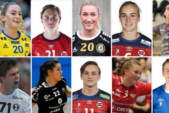 Her er de ti største håndballtalentene i Norge. Én kandidat er soleklar, mener TV-profilen.