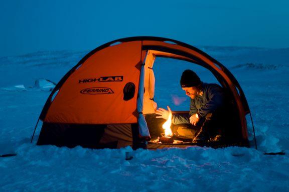 Vær obs på telttur: Ikke ta med primusen inn. Det kan bli en dødsfelle.