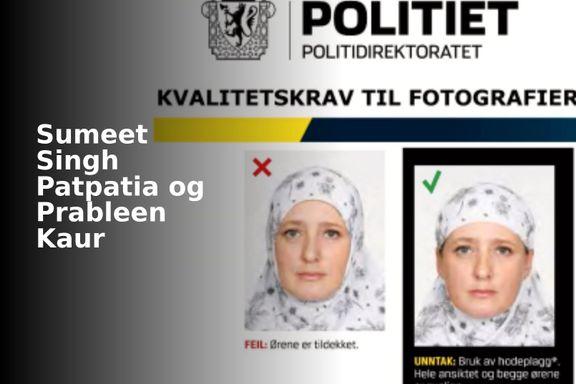 Hvorfor innførte Norge krav om synlige ører på pass? Hva skjedde?