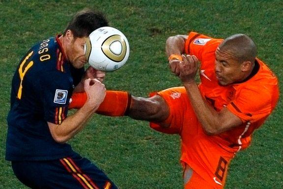 Spania trakk Nederland