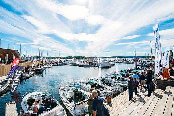 I helgen blir det båtfest på Aker Brygge
