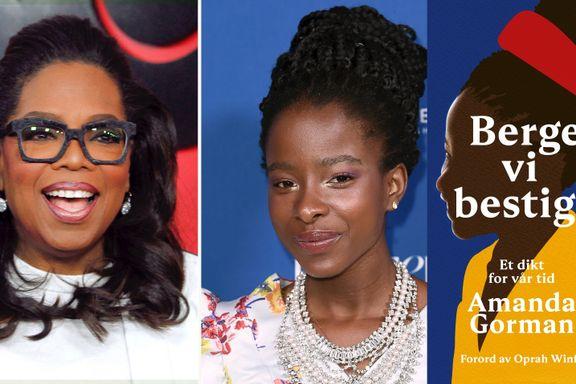 Oversettelsen av diktet er forfulgt av kontrovers. Oprahs forord hjelper heller ikke.