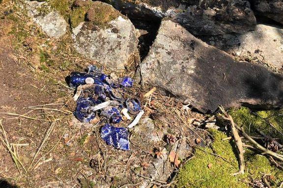 Fant bålplass full av søppel under fiskeørnreir: – Tenker kun på friluftsinteresser, ikke på naturens interesser