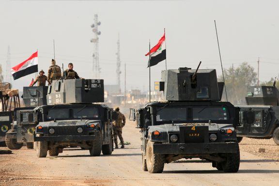 Irakske styrker befester stillingen utenfor Mosul
