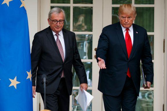 USA og EU enige om å trappe ned handelskrigen