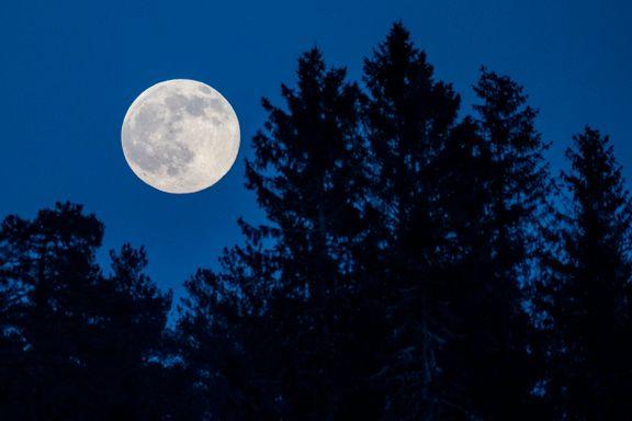 Fullmånen er en illusjon