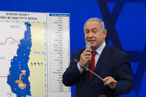Kritikken hagler mot Netanyahus planer om annektering