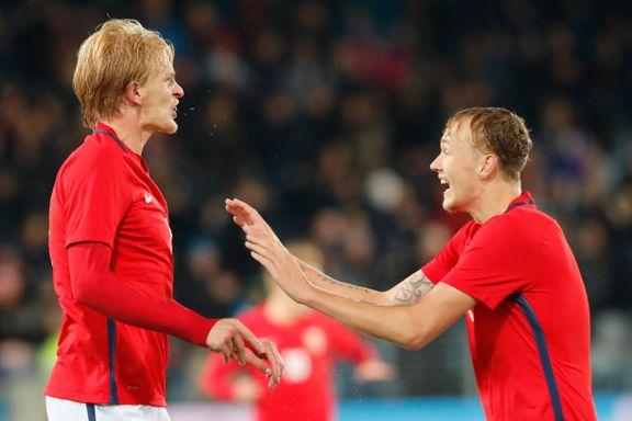 EM-håpet lever: Norge-kapteinens dobbel sikret seier