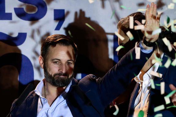 Ytre-høyre inn i nasjonalforsamlingen for første gang siden Franco-diktaturet for 40 år siden