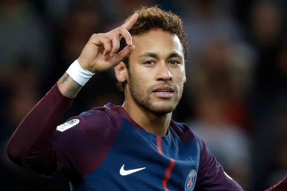 Neymar avgjorde toppkampen i Frankrike
