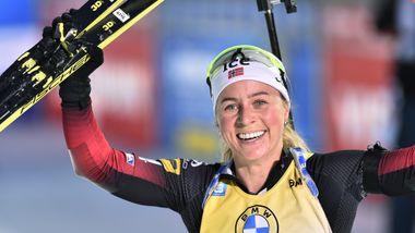 Norge knusende overlegne på mix-stafetten – vant med over ett minutt