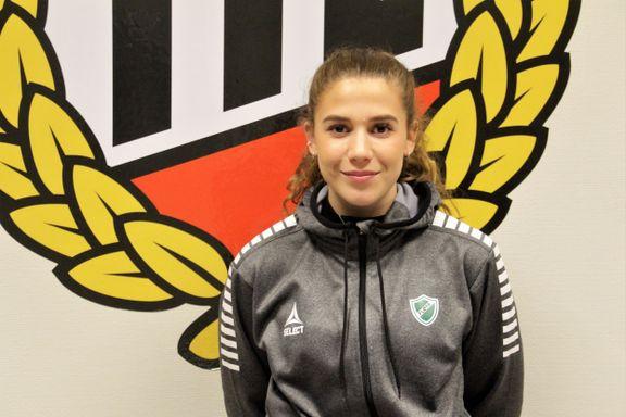 Det nye fotballflaggskipet i Tromsø er i gang: Veronika (20) er tidenes første TIL 2020-spiller