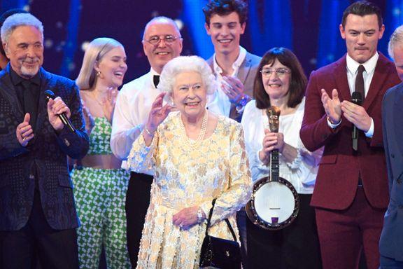 Dronning Elizabeth feiret 92 år med stjernespekket konsert