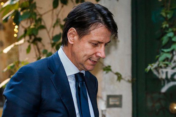 Giuseppe Conte gir opp forsøket på å bli statsminister i Italia