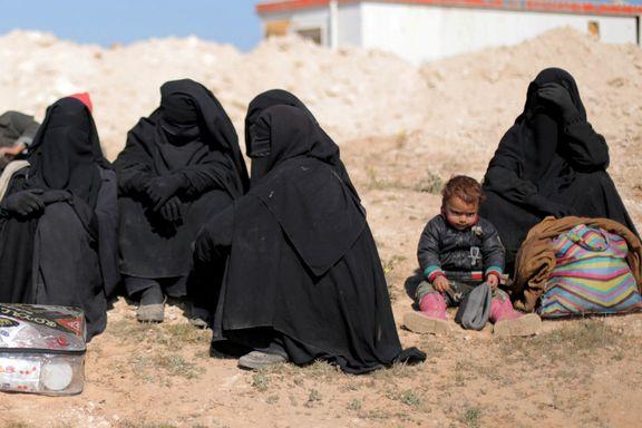 Nå fraktes kvinner og barn ut fra IS' siste skanse i Syria