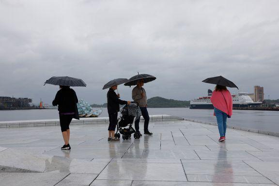 Kraftig nedbør på Østlandet: Rasfare i Innlandet