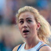 Isabelle Pedersen kom helt sist i sesongstarten