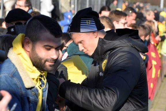 Haaland-feberen herjer i Dortmund