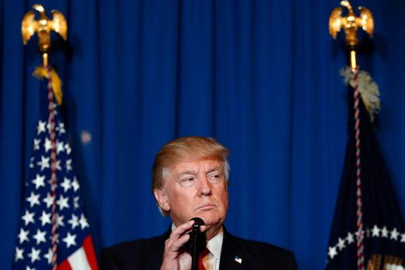 President Donald Trumps fem helomvendinger: «Til alle de dustene som vil angripe Syria...»