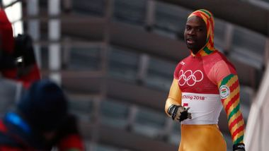 Før Pyeongchang måtte han gå fra dør til dør og selge støvsugere. Så endret vinter-OL alt for ghaneseren.