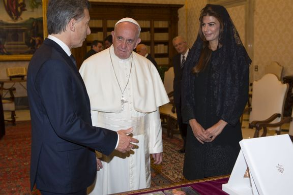 Paven sendte presidentens pengegave i retur