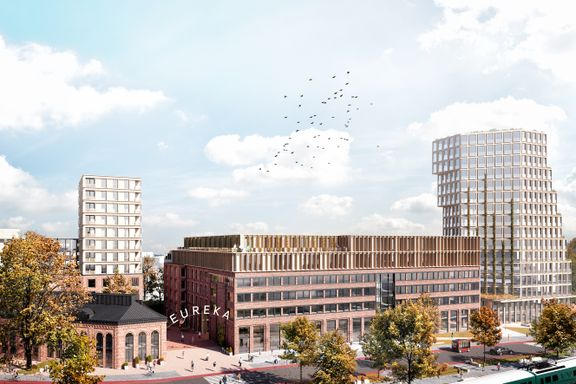Vil bygge 56 meter høyt Skøyen – kan bli hotell