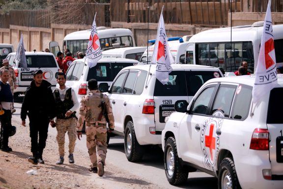 Nødhjelpskolonne med nytt forsøk i Syria