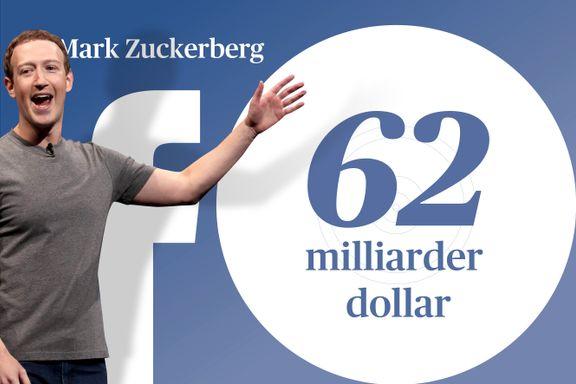 Så rike er Facebooks grunnleggere og profiler i dag